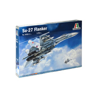 Italeri 1/72 SU-27 Flanker Plastic Model Kit 1413