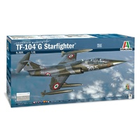 Italeri 1/32 TF-104G StarFighter Plastic Kit 2509S