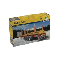 Italeri 1/24 Timber Trailer ITA-03868