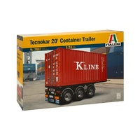 Italeri 1/24 20 Container Trailer
