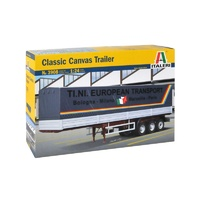 Italeri 1/24 Classic Canvas Trailer