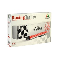 Italeri 1/24 Racing Trailer Plastic Kit 3936S