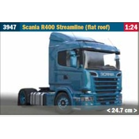 Italeri 1/24 Scania R400 Streamline (Flat Roof) Plastic Kit