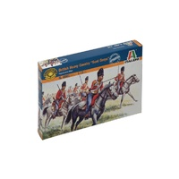 Italeri 1/72 Fig British Heavy Cavalry Scots Greys NAP Wars