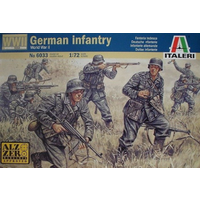 Italeri 1/72 German Infantry WWII