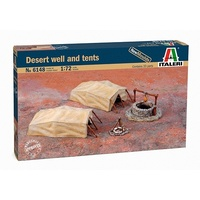 Italeri 1/72 Desert Water Well & Tents