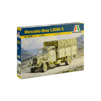 Italeri 1/35 Mercedes Benz L3000 Plastic Kit