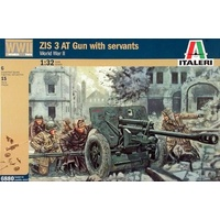 Italeri 1/32 ZIS3 AT Gun with Servants