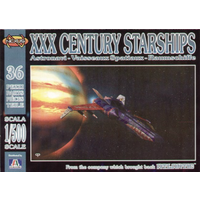 Italeri 1/72 Atlantic XXX Century Starships