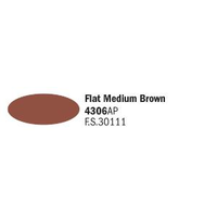 Italeri Acrylic Flat Medium Brown FS30111