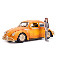 Jada 1/24 Charlie w/VW Beetle Transformers T6 Movie
