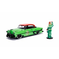 Jada 1/24 Poison Ivy w/1953 Chevy Bel Air Bombshells Movie 30455 Diecast
