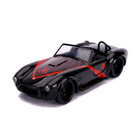 Jada 1/32 Spider Man - 1965 Shelby Cobra Hollywood Rides Movie Diecast
