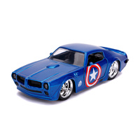 Jada 1/32 Captain America - 1972 Pontiac Firebird Movie Diecast