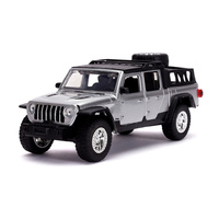 Jada 1/24 Jeep Gladiator (F9) Fast n Furious Movie Diecast