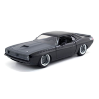 Jada 1/24 Fast & Furious Lettys Plymouth Barracuda Movie Dieacast 97195