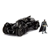 Jada 1/24 2015 Arkham Knight Batmobile w/Diecast Batman Figure Movie Diecast Car