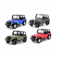 Jada 1/24 1992 Jeep Wrangler Just Trucks 98081 Diecast
