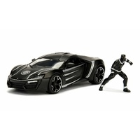 Jada 1/24 Black Panther w/Lykan HyperSport Movie Hollywood Rides 99723 Diecast