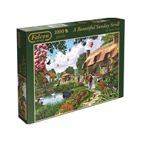 Jumbo 1000pc Beautiful Sunday Stroll JUM11029