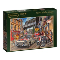 Jumbo Spirit of the 60s 1000pc Jigsaw Puzzle