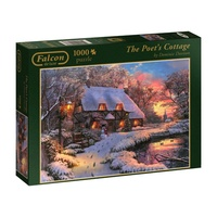 Jumbo The Poets Cottage 1000pc Jigsaw Puzzle
