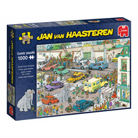 Jumbo JVH Jumbo Goes Shopping 1000pc Puzzle