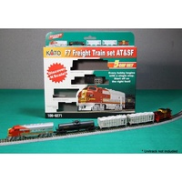 Kato N F7 AT&SF 5 Car Set Train Pack