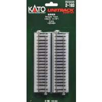 Kato HO Unitrack 149mm 2pk