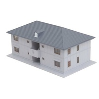 Kato N Two Story House (grey)