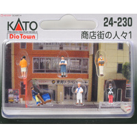 Kato N Shop Staff Figures 6pkt