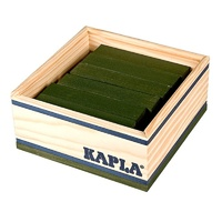 Kapla Colour Square Box 40pcs - Green