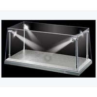 1/24 & 1/43 White Base LED Lighted Display Case