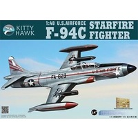 Kitty Hawk 1/48 F-94C Shooting Star Plastic Kit
