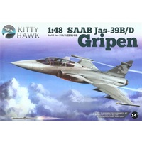 Kitty Hawk 1/48 Jas 39B/D Gripen