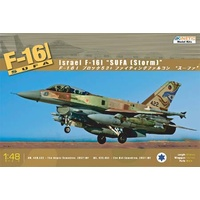 Kinetic F-16I SUFA Color Photo Etched Parts for 1/48 Kits