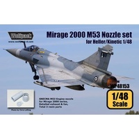 Kinetic 1/48 Dassault Mirage 2000D Photo Etched Parts