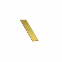 K&S Brass Strip 0.5 x 12.0 x 300mm 3pce KSE-9841
