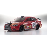 Kyosho 1/10 EP4FAZER RSET VE Lancer Evolution X KXI Red KYO-30919T2