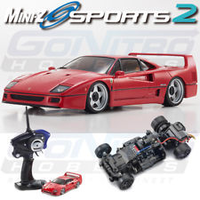 Kyosho Mini-Z Racer Sports 2 MR-03 Ready Set Ferrari Testrossa Red Version