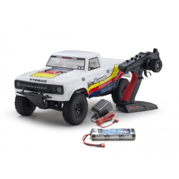 Kyosho 1/10 EP 2WD 2RSA RTR Outlaw Rampage Short Course Truck (White)