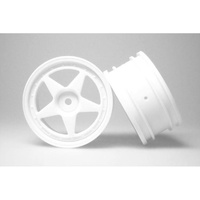 Kyosho Wheel 5 Spoke White