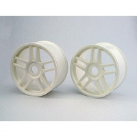 Kyosho Wheel(10-Spoke/White/2Pcs) IGH005W