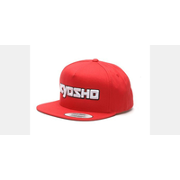 Kyosho Snap Back Cap (Red)
