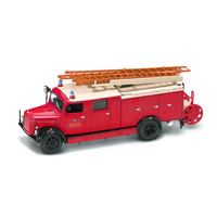 Lucky Diecast 1:43 1941 Magirus-Deutz S 300 SLG Fire Engine