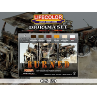 LifeColor Burned Diorama Set LC-CS29
