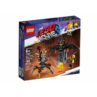 LEGO Movie 2 Battle-Ready Batman And MetalBeard 70836