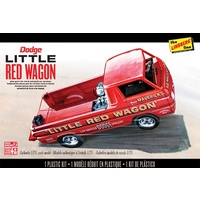 Lindberg 1/25 Little Red Wagon Dodge