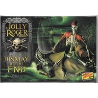 Lindberg 1/12 Jolly Roger Series: Dismay Be The End Plastic Model Kit HL611