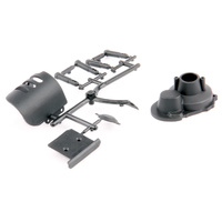 LRP Motor Cover Set & Skid Plate - S10 Twister LRP-124017
